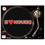 I LOVE HOUSE Slipmats