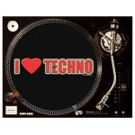 I LOVE TECHNO Slipmat