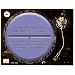 Slipmat Blue Pill