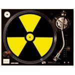 Slipmat Radioactive black / yellow