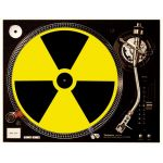 Slipmat Radioactive yellow / black